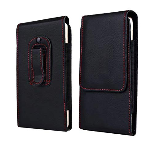Vertical Large Cell Phone Holster Belt Clip Case Pouch Holder for iPhone 11 Pro Max 8 Plus, Samsung Galaxy Note 10 Plus 9, S20 Ultra, S20+,S10 Plus, A20s A71 A70, Moto G8,G7 Power, OnePlus 7 Pro, 7T