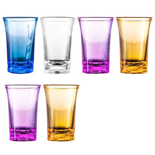 Crazyfly Dispensador de copas de vino, 6 dispensadores de vasos de chupito, vasos de chupito, dispensador de copas de vino rápido para copas de vino