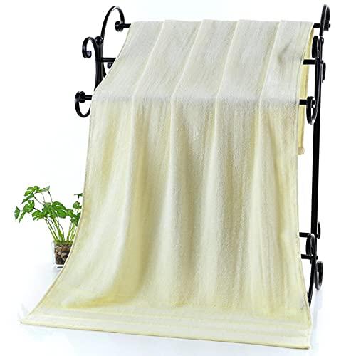 YYZ Juego de Toallas de baño (2 Paquetes), Toalla de baño de Fibra de bambú, Toalla de Playa, Toalla de baño Espesa, Absorbente y súper Suave, Adecuada para el Uso Diario