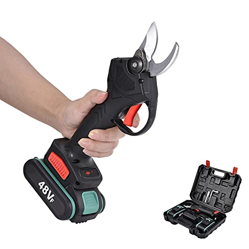soundwinds Professional Cordless Electric Pruning Shears With Screen, 2PCS...