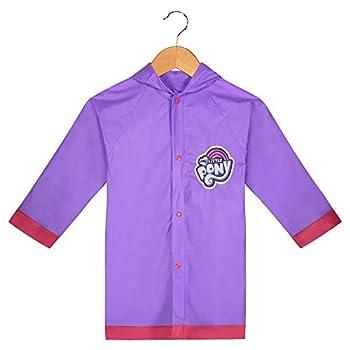 My Little Pony Girls Rain Slicker Size Large 6/7 Purple