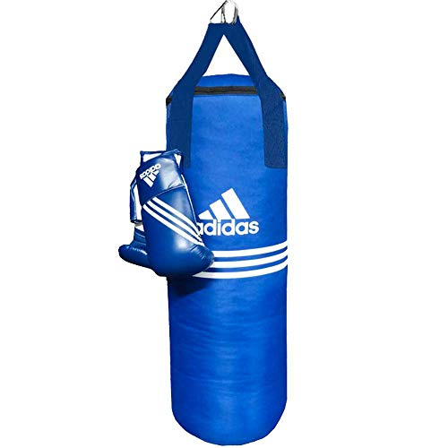 adidas Boxsack-Set, Blue Corner, blau