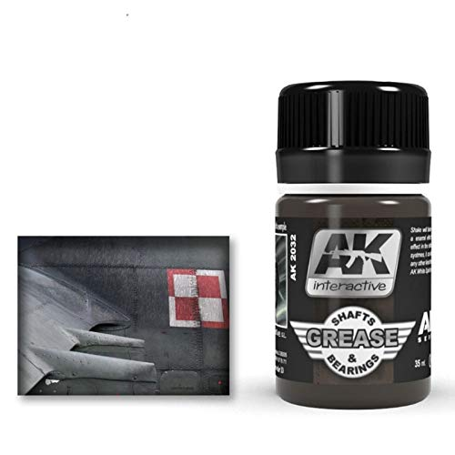 (AK02032) - AK Interactive Wash 35ml - Grease Shafts & Bearings Wash