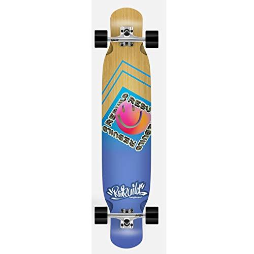 Skateboarding Patineta + Paquete Especial + Equipo De Protección Patineta Larga De Cuatro Ruedas para Todo Terreno Principiantes Fácil De Usar Y Simple Unisex (Color : A, Size : 120 * 23CM)