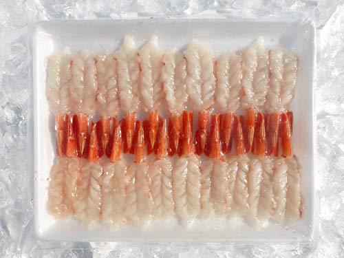 お刺身用天然赤エビ開 8L 20尾 (10~11�p ) マール 20セットまとめ買い