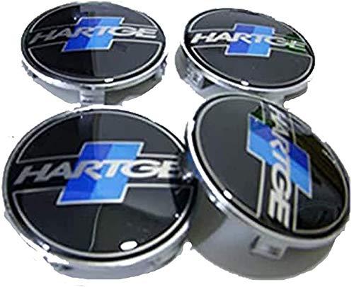 Tapas de cubo de cubierta central de rueda de coche para BMW E90 E91 X5 X6 Z4 M6 E60 E61 para Hartge, accesorios de estilo de coche, 4 piezas, 68 mm