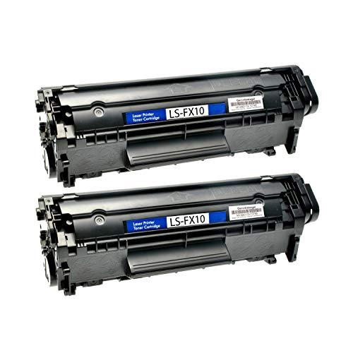 2 Toner kompatibel für Canon FX10 Fax Faxphone L 100 120 I-Sensys FAX L I-Sensys MF 4000 4100 4300 4600 Series PC-D 440 450-0263B002 - Schwarz je 4.000 Seiten