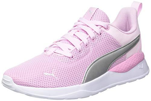 PUMA Kinder Anzarun Lite JR Sneaker, Pink Lady Puma Silber, 37 EU
