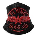 DFGHG Eine rote Vintage Benzin fliegende Mikrofaser Halswärmer Schal Gamasche Kopfbedeckung Gesichtsmaske Bandanas