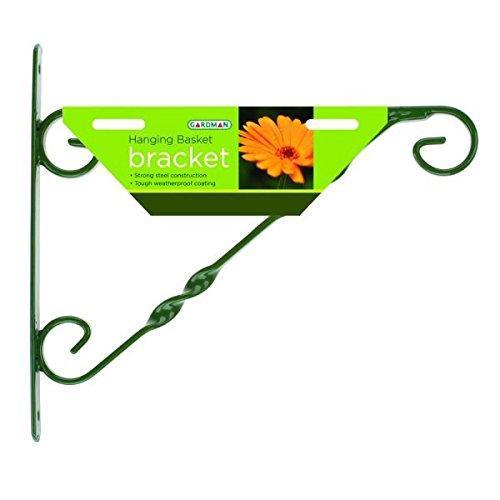 Gardman Wandhalter für Hängeampeln, 35,56/40,64 cm, grün