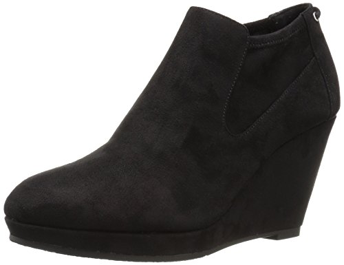 CL by Chinese Laundry Women's Varina Ankle Bootie, Black Suede, 5.5 M US