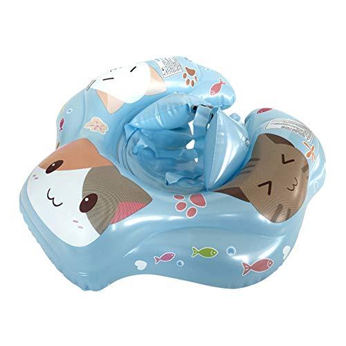 Anillo de natación, flotador inflable de goma para natación, cartón, inflable de goma para bebé