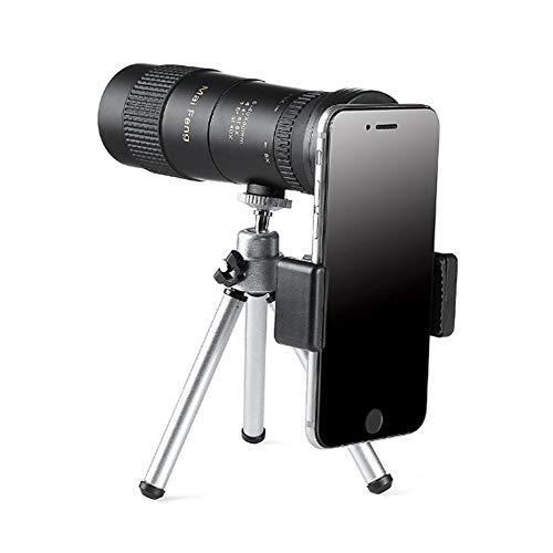 SYue Telescopio Visión catalejos Mini portátil Prismáticos 8-40X40 Gran Aumento Noche se Puede conectar a un trípode Exquisito y...