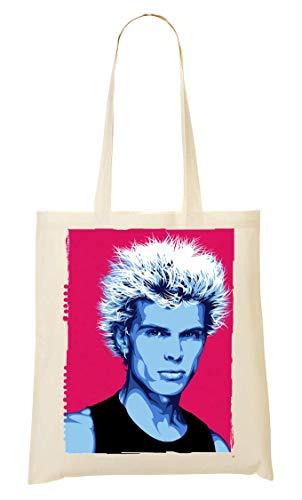 Wicked Design Billy Idol Poster Artwork Tragetasche Einkaufstasche