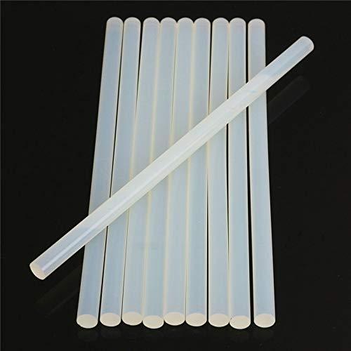 SANKUAI 20pcs 11mmx250m 200mm 300mm heißen Schmelzkleber-Sticks for elektrische Klebepistole Silikon Craft Albums Reparatur-Werkzeuge for Alloy (Farbe : 11mm, Größe : 300mm)