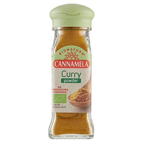 Cannamela, Linea Bionatura, Curry Powder, Miscela di Spezie, Particolarmente Adatto a Carne, Pesce e Verdura in Umido