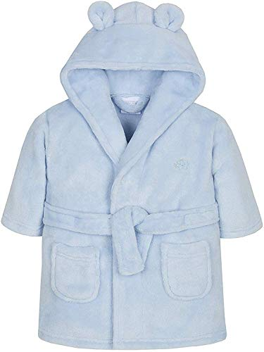 BABY TOWN Wunderschön Baby ankleiden Kleid in Entweder Pink oder blau Weicher Flauschiger Fleece
