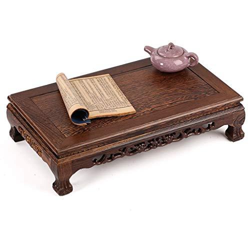 Beistelltische Rechteckiger Kleiner Couchtisch Aus Massivem Holz Teetisch Aus Chinesischem Mahagoni-Erkerfenster Tatami-Tisch Niedriger Tisch Mit Retro-Bodentisch