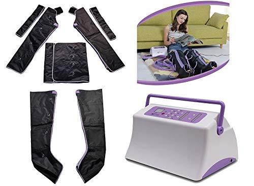 TechnoPres Macchina completa per presso massaggio sequenziale piedi polpacci gambe pancia fianchi braccia ritenzione idrica cellulite