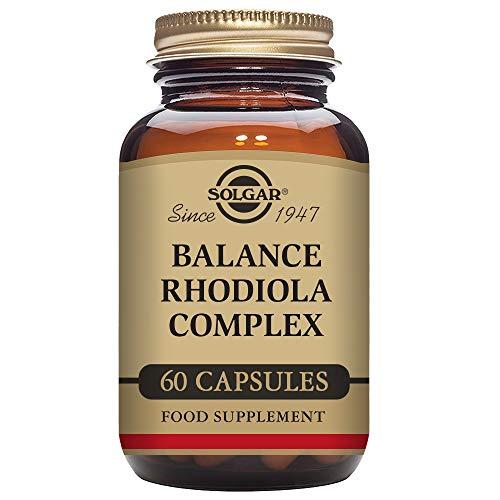 Solgar Balance Rodiola Complex Cápsulas vegetales - Envase de 60