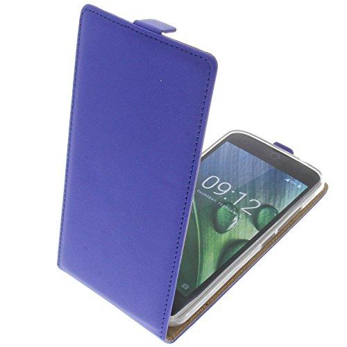 foto-kontor Tasche für Acer Liquid Zest Plus Smartphone Flipstyle Schutz Hülle blau