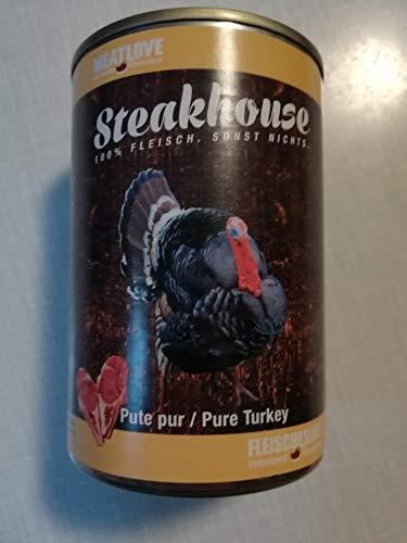 Fleischeslust Steakhouse Pute Pur, 1er Pack (1 x 410 g)