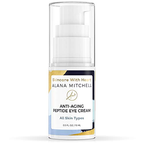 Under Eye Cream For Anti Aging - Best Natural and Organic Firming Treatment For Wrinkles, Fine Lines, and Dryness - Hydrating Under Eye Serum to Diminish Crows Feet