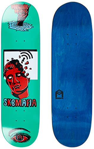 SK8MAFIA Marshall Heath Ward 8.1'x32' Deck Skateboard, Adulti Unisex, Multicolore (Multicolore)