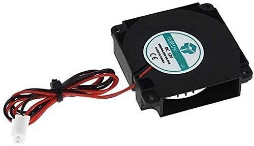 Nuevo Durable 5PCS 4010 Blower 40x40x10mm Ventilador sin escobillas 5V 12V 24V Cojinete hidráulico XH2.54-2P Terminales para accesorios de impresora 3D Piezas de impresora nuevas 3D (Tamaño: 24v con T