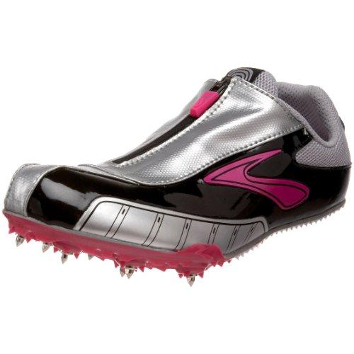 Brooks Damen Laufschuh Sprintschuh Spikeschuh Leichtathletik-Schuh PR in der Farbe Silber (11 US)