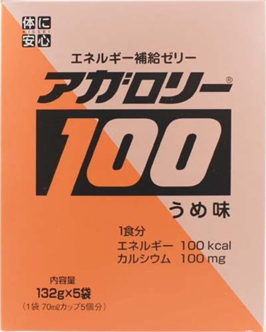 応用可能性動アガロリー100 (うめ味) 132g×5袋入