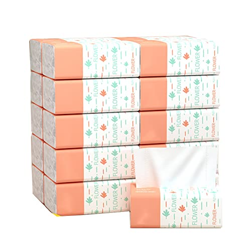 Papel higiénico Pulsera Natural de Pulpa de Madera,servilleta Suave for el hogar,Papel higiénico Disponible portátil
