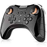 AZZ Wireless Pro Controller Gamepad,6-Axis Switch Remote Supports Motion Controls,for PS3/PC/Android Third Party Controller