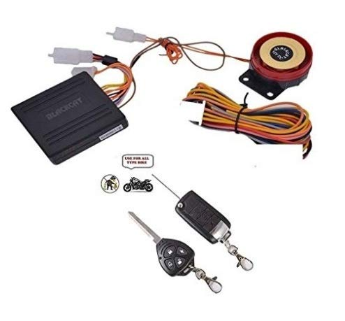 WV01RCA08899 Universal Anti-Theft Motorcycle/Bike Alarm Security System Button