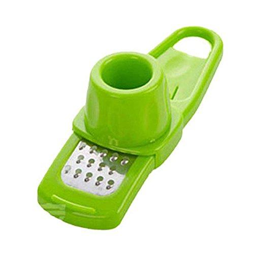 Prensa de ajos, cocina, pelador de ajos, herramienta de ajo, cortador de ajos, jengibre, picadora manual de jengibre (A)