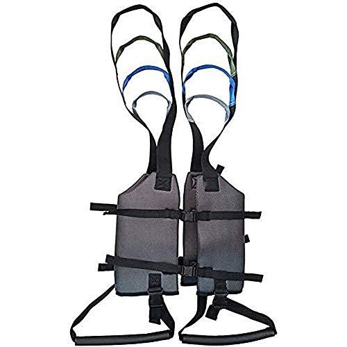 ZXCASD Cinturón De Transferencia, Dispositivo De Arnés del Cinturón De La Marcha De La Grúa De Asistencia Móvil para Bariátrica, Pediátrica, Ancianos ⭐