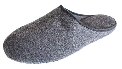Revise Hausschuhe - Pantoffeln –Filzlatschen – Filzpantoffeln - Damen und Herren – Filz mit Filzsohlen Gr. 40