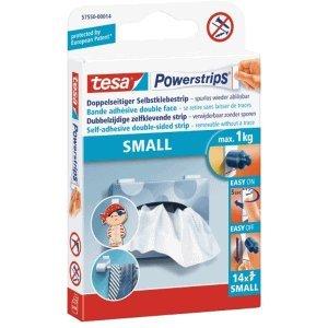 Tesa - Tiras Adhesivas pequeñas 15 Unidades