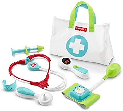 Fisher-Price Medical Kit, Preschool Pretend Doctor Playset from Fisher-Price