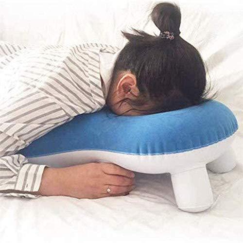 Wxnnx Cabeza Almohadas de Apoyo para los Hombros Almohada Boca Abajo, Almohada para Dormir Almohada para el desprendimiento de Retina Pacientes Durante la recuperación del sueño para Uso Posterior