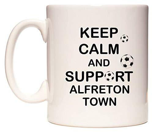 Keep Calm And Support Alfreton Town Taza por WeDoMugs®