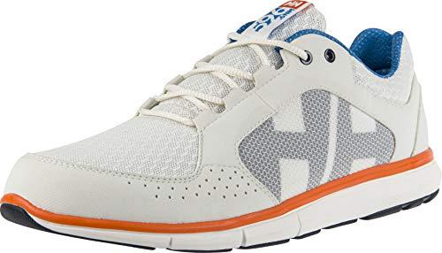 Helly Hansen Herren Ahiga V4 Hydropower Sneaker, Off White/Racer Blue/B, 46 EU