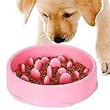 GWL Cuenco de Lenta Alimentación para Perros, Slow Eating Dog Bowl, Tazón...