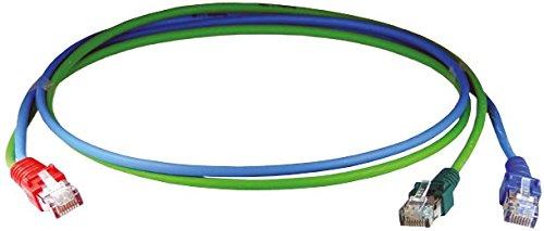 Homeway HW-Y-Kabel2 ISDN/LAN HCAHNG-B2203-A005 0,5m gn/bl Patchkabel Kupfer 4250679710441