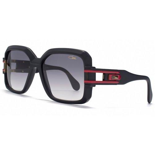 Cazal Legenden 623 Sonnenbrille Im Matt-Schwarz Und Rot