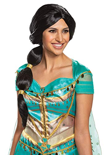 Aladdin Live Action Jasmine Wig Adult Standard Black