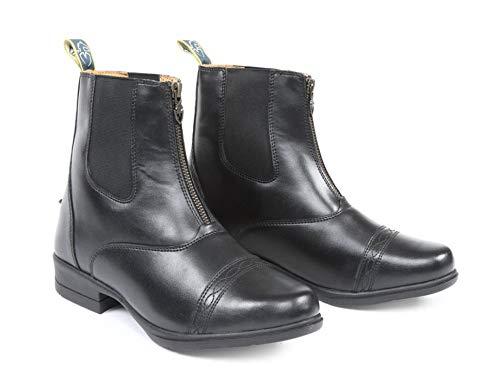 Shires Children's Moretta Clio Paddock Boots Black 12