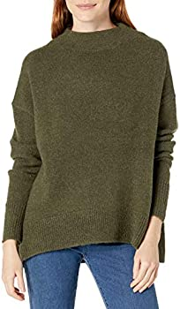 Cable Stitch Women's Mock Neck Cozy Sweater