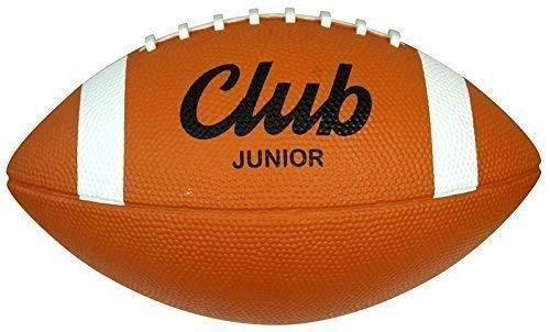 Midwest Club Baden QB American Football Junior/Offizielle Größe Rugby Training Ball Orange/White Junior Size