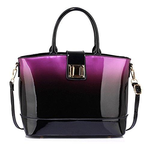 Ladies Handbags Patent Womens Large Bags Shoulder Celebrity Designer Leather